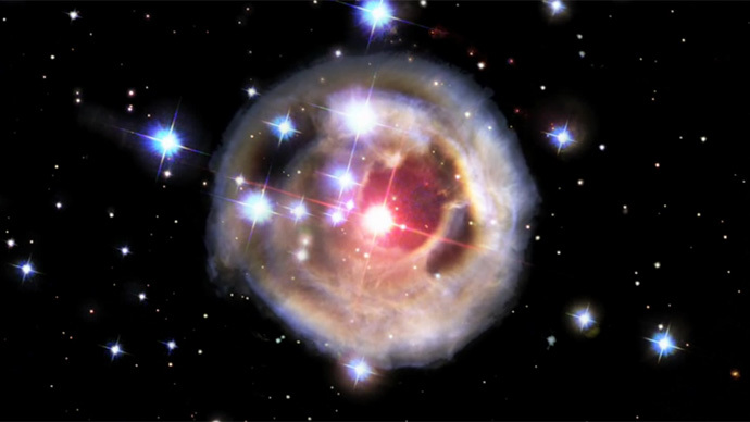 Stunning Hubble time-lapse of stellar explosion (VIDEO)