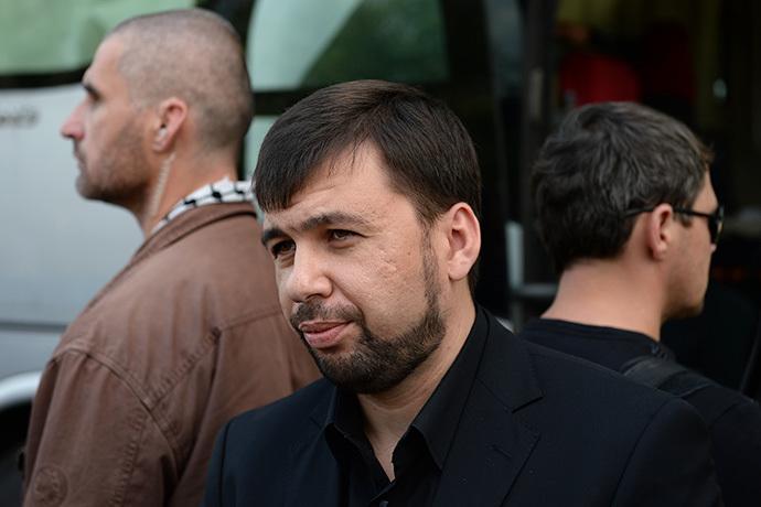 Chairman of the Supreme Council of the Donetsk People's Republic Denis Pushilin (RIA Novosti / Maksim Blinov)
