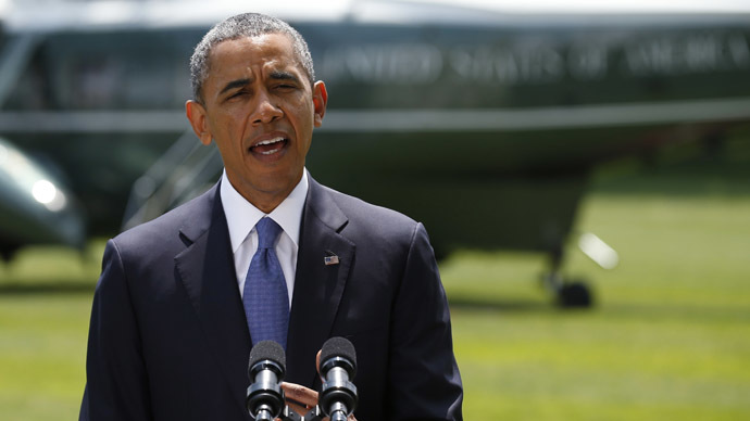 Obama refuses to send troops to Iraq, but won't rule out air strikes