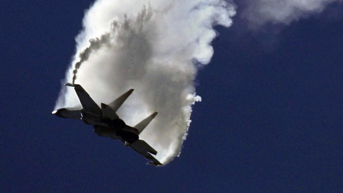 Sukhoi-24 bomber jet. FILE PHOTO (AFP Photo/Frederick Florin)