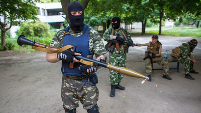 DRAMATIC: Ukraine army and self-defense militia exchange bodies (VIDEO)