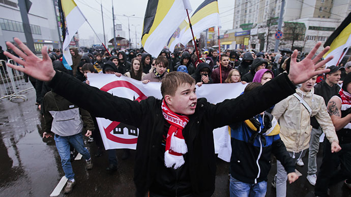 Ukraine turmoil turns Russians off nationalism - survey