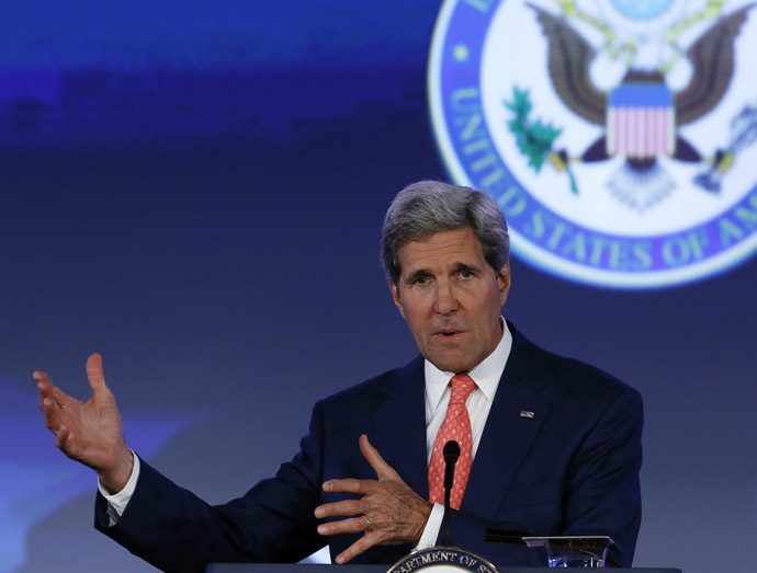 U.S. Secretary of State John Kerry (Reuters/Gary Cameron)