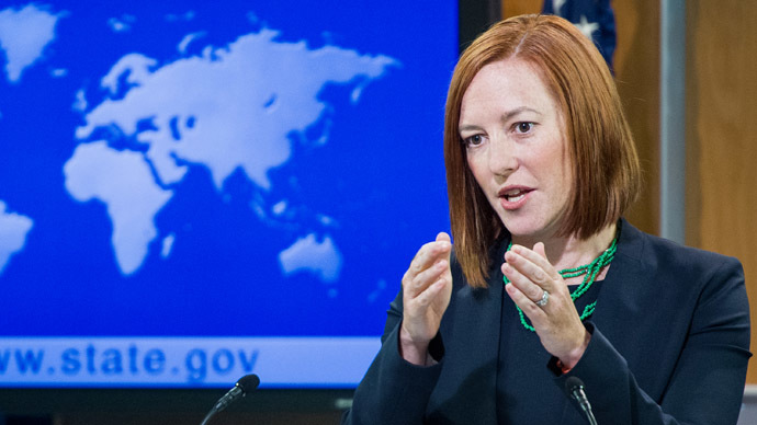 Psaki defends Ukraine FM over 'Putin f**ker' remark, confuses Iraq and Iran