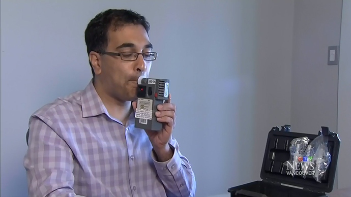 Canadians invent weed breathalyzer to catch drivers