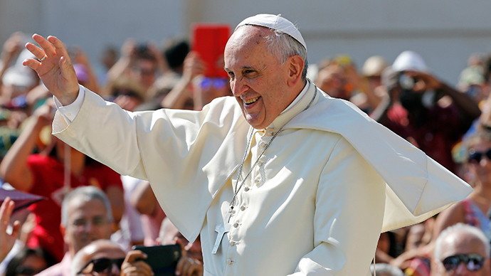 Pope Francis: Communists 'stole' the flag of Christianity