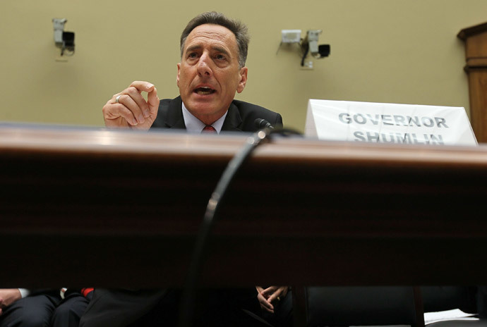 Vermont Gov. Peter Shumlin (Alex Wong / Getty Images / AFP)