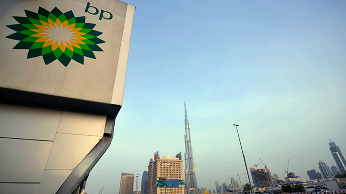 Gas guzzling China signs $20bn deal with BP