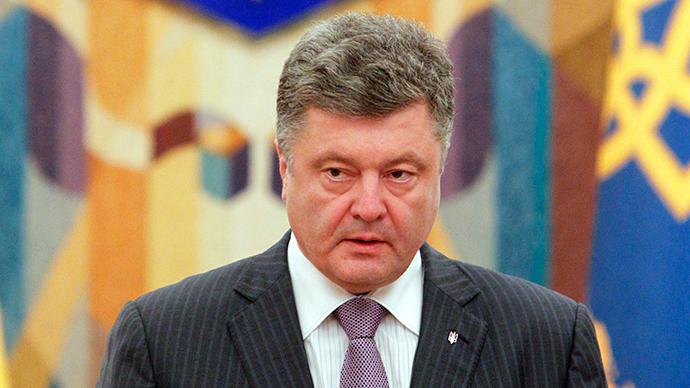 President Poroshenko calls for unilateral ceasefire in E. Ukraine