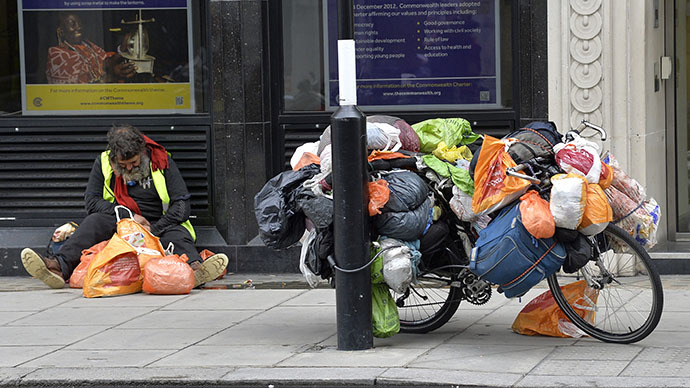'Govt has failed': Poverty doubles in UK over last 30 years
