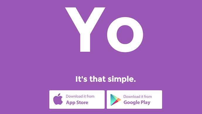 Money for nothing? $1mn for app that says 'Yo' to your friends