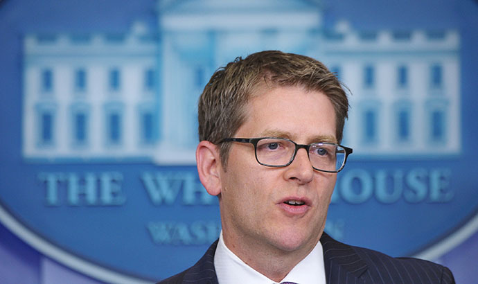 White House Press Secretary Jay Carney (AFP Photo / Mandel Ngan)