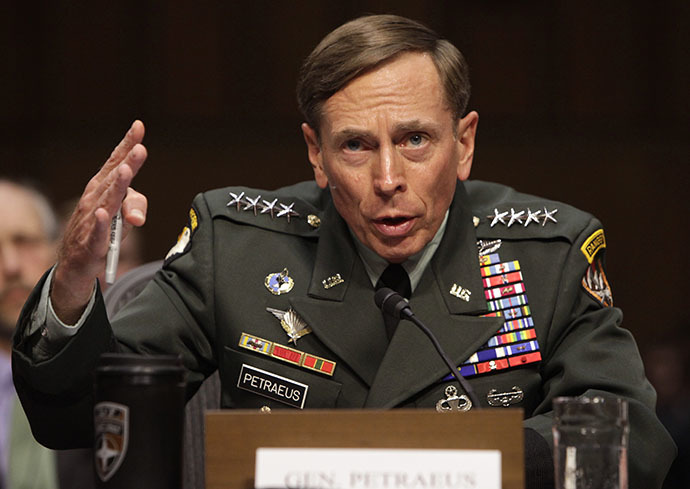 U.S. General David Petraeus, June 23, 2011. (Reuters / Yuri Gripas)