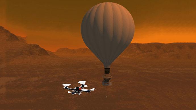 Titan Mobile Homes >> NASA considers sending quadcopter drone to look for life on Titan — RT USA News