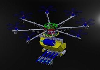 Skunk CAD design (courtesy Desert Wolf)