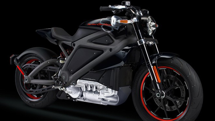 Harley-Davidson builds first electric motorcycle (PHOTOS, VIDEOS)