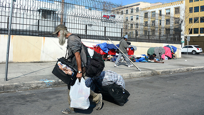 LA's homeless allowed to live in cars, appeals court rules