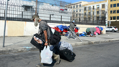 San Fran archdiocese apologizes for 'inhumane' sprinklers that douse homeless