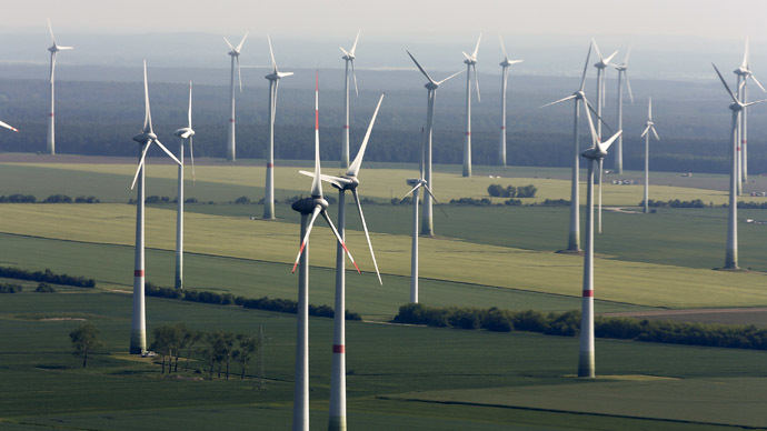 Renewable energy initiatives up 10x in last decade