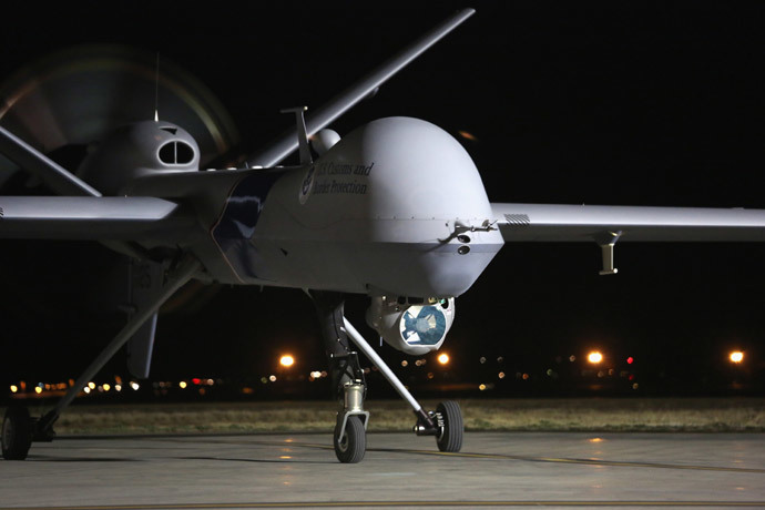 Predator drone (John Moore / Getty Images / AFP)