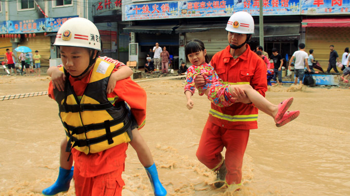 3 million affected by deadly floods in China (PHOTOS)