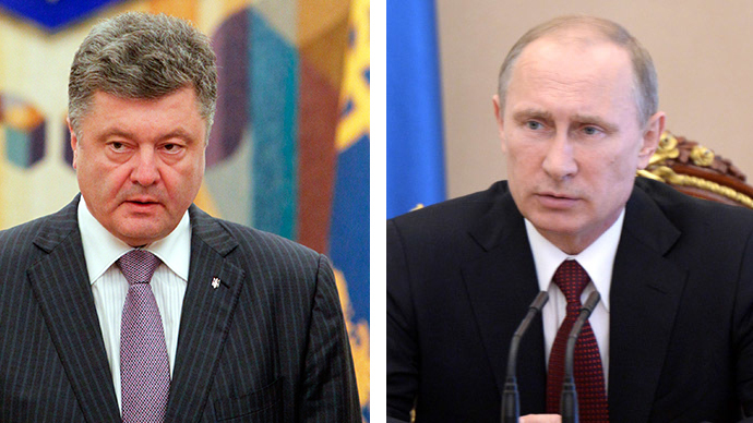 Putin welcomes Kiev's ceasefire, calls for urgent dialogue with east