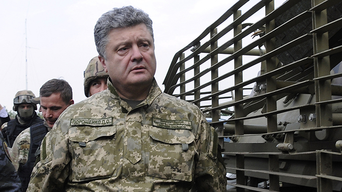 ​Poroshenko warns of 'detailed Plan B' if Ukraine ceasefire fails