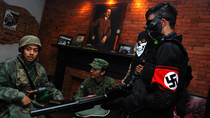 Nazi-themed café in Indonesia reopens a year after intl outrage forced its closure