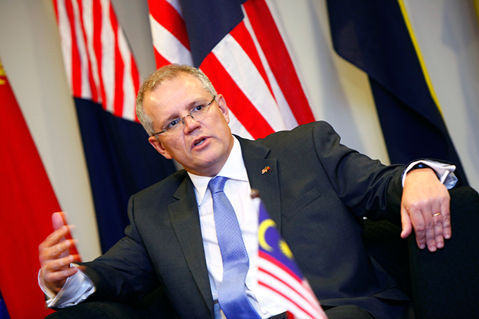 Australia's Minister of Immigration and Border Protection Scott Morrison (Reuters / Samsul Said)