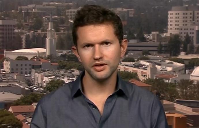 David Seaman (Screenshot from RT video)