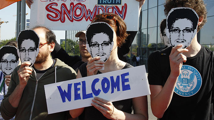 Snowden's year in Russia: From airport hideout to mystery location