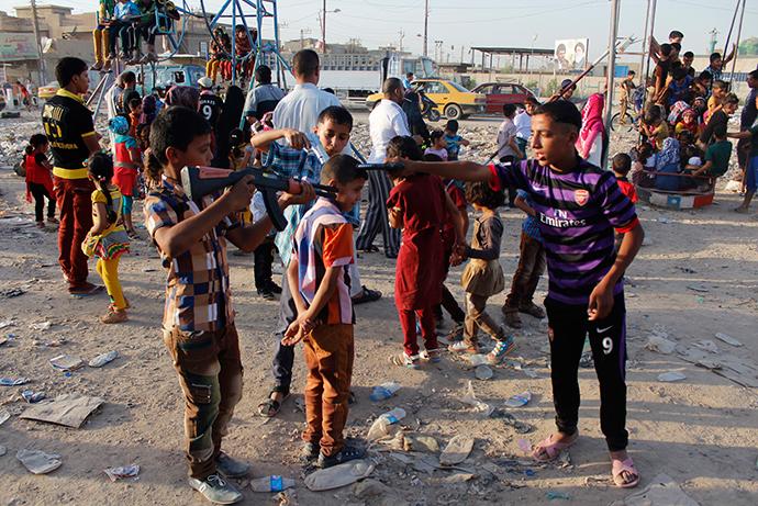 Reuters / Ahmed Saad