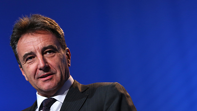 Gerhard Roiss, CEO of energy group OMV AG (AFP Photo)