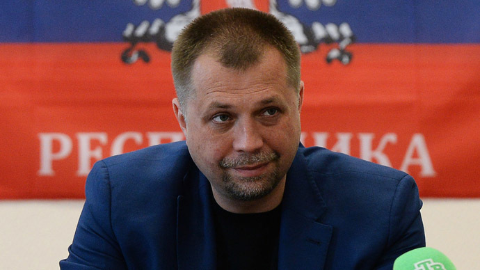 Prime Minister of Donetsk People's Republic Aleksandr Boroday (RIA Novosti/Maksim Blinov)