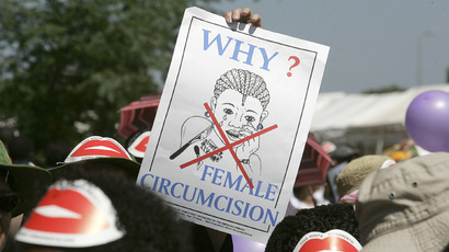 Female genital mutilation 'cutters' targeted by UK Border Control
