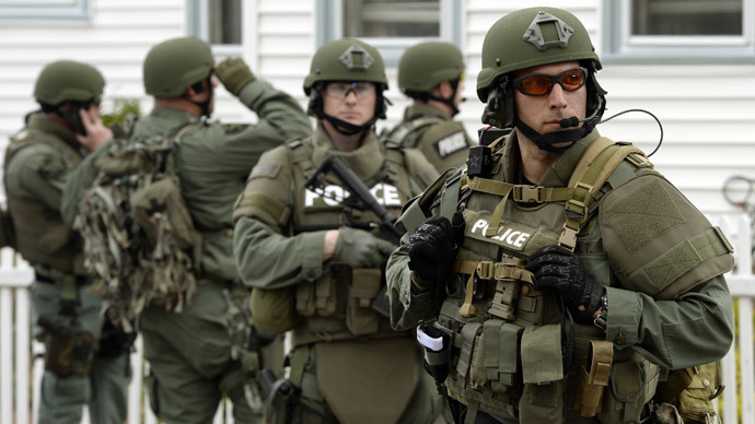 Battlefield USA: American police 'excessively militarized' - ACLU study