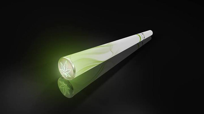 Dubious dubbie! World's first e-joint... that doesn't get you high