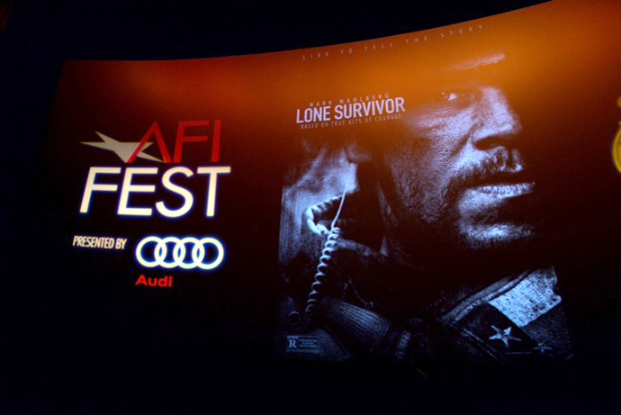 "A general view of atmosphere is seen during the premiere for ""Lone Survivor"" during AFI FEST 2013 presented by Audi at TCL Chinese Theatre on November 12, 2013 in Hollywood, California. (AFP Photo / Getty Images / Alberto E. Rodriguez)"