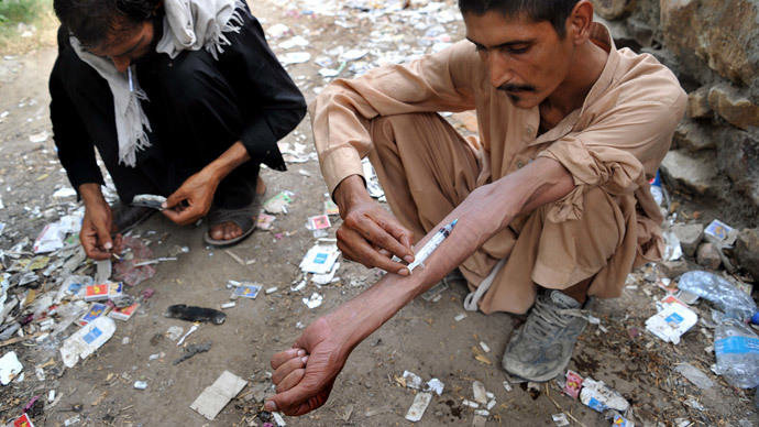If you can't beat them, lead them! British diplomat advocates legalizing heroin