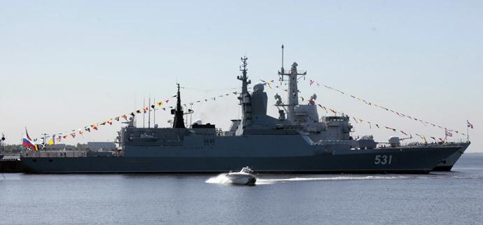 Soobrazitelny corvette (RIA Novosti / Aleksey Danichev)