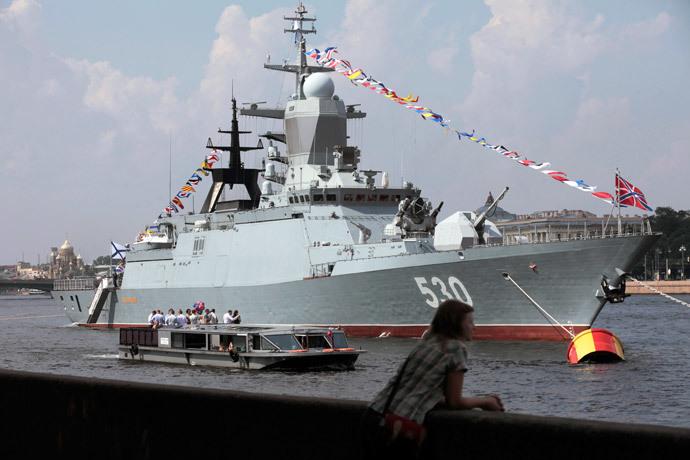 Navio principal Steregushchy (RIA Novosti / Aleksey Danichev)