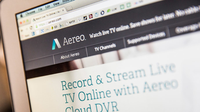 Aereo streaming TV service deemed illegal by Supreme Court