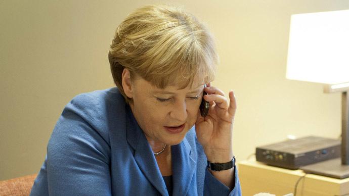 German Chancellor Angela Merkel (Reuters/Jesco Denzel)