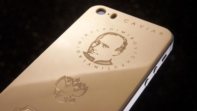 'Titanium force': New luxury Putin iPhone to cost over $3,300