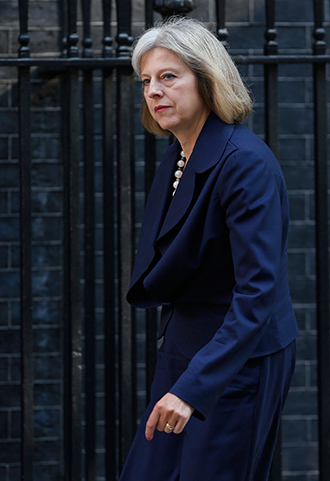 Britain's Home Secretary Theresa May (Reuters / Suzanne Plunkett)