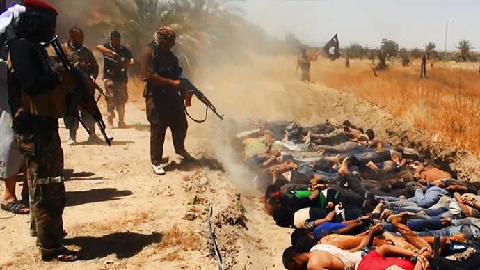 'ISIS commits mass murder, advertises it': Iraq executions detailed