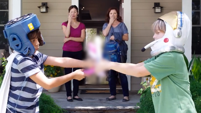 Dildo-waving kids star in gun safety PSA (VIDEO)