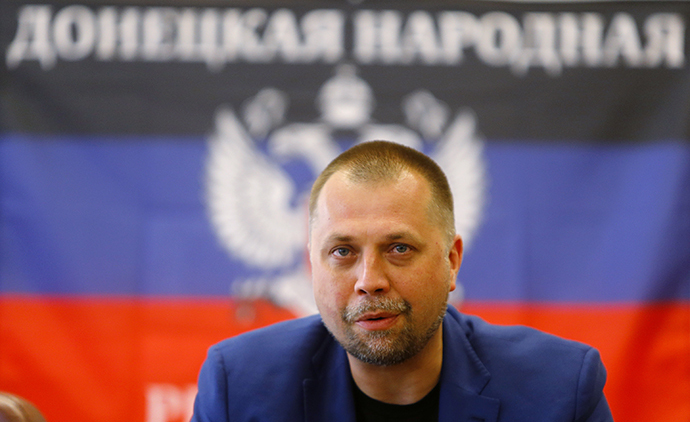 Alexander Boroday the Prime Minister of the self proclaimed 'Donetsk People's Republic' (Reuters / Shamil Zhumatov)