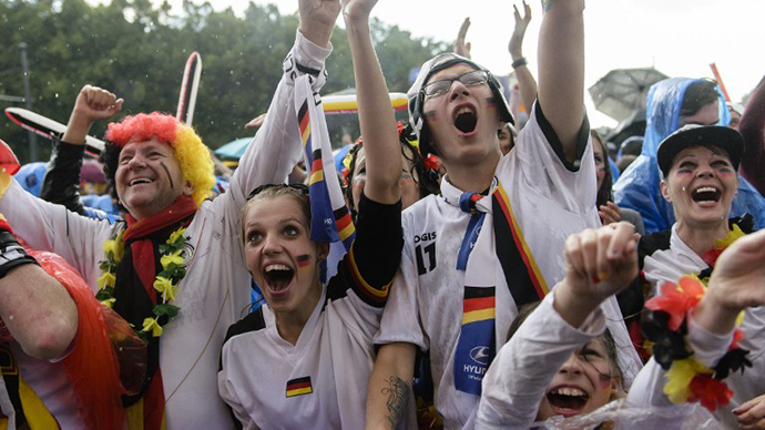 German World Cup fans warned not to sing or face paint