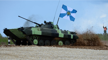 Russia hosts Tank Biathlon 2015: 13 nations attending, China brings own tanks